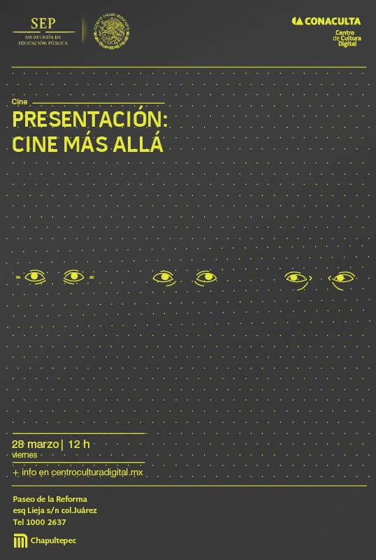 El Centro de Cultura Digital relanza actividades cinematográficas para 2014