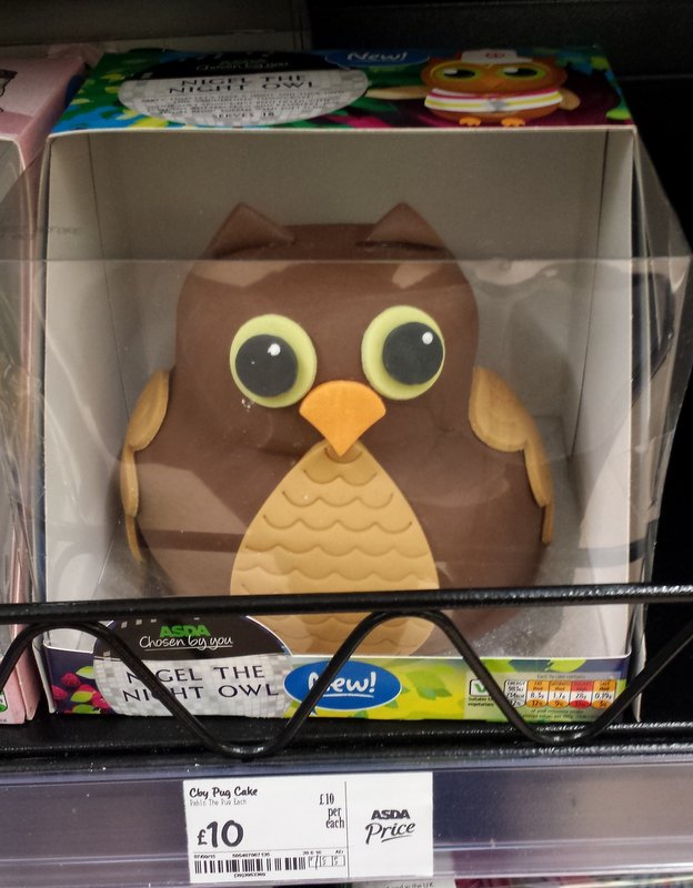 Owl Birthday Cake Sainsbury