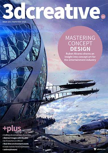 3D Creative Magazine Issue 121 September 2015