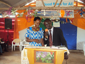 Pastor Grace and wife Mariam