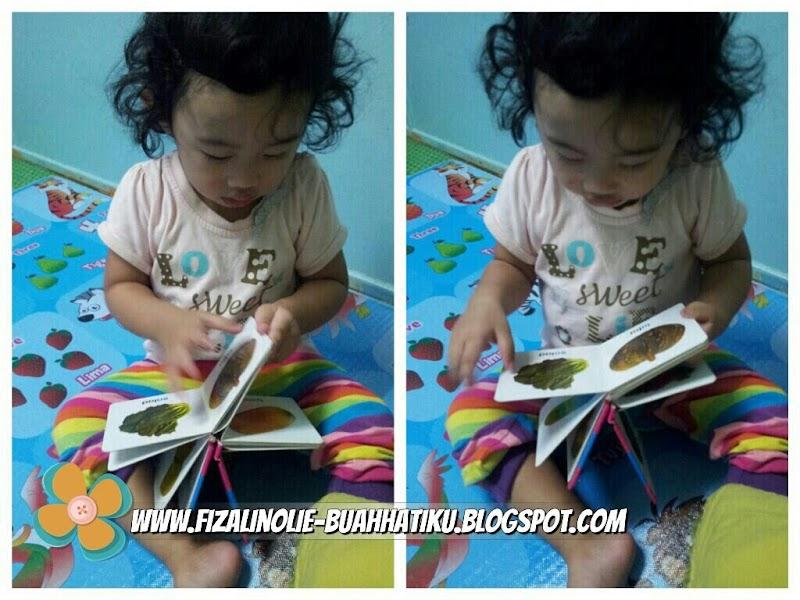 Alia Rajin Bukak Buku
