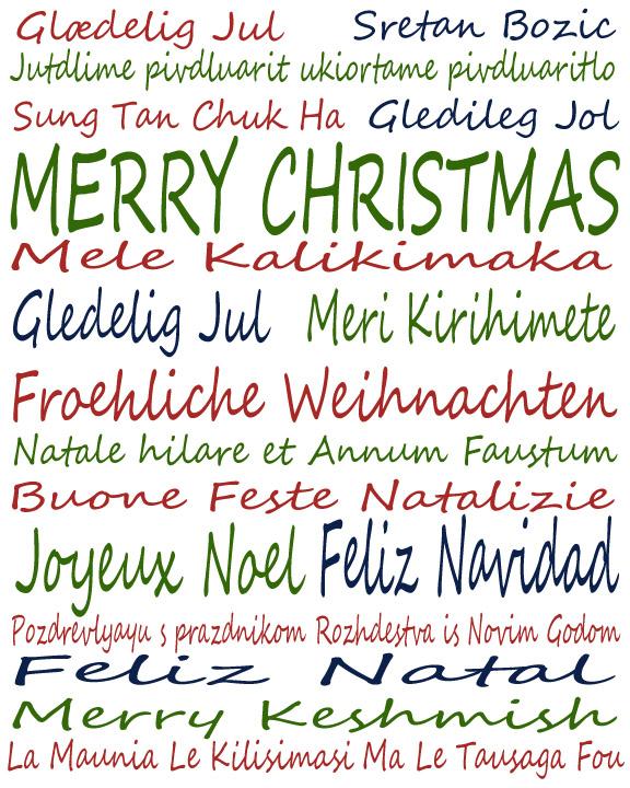 12 Days Til Christmas: International Christmas Wishes | While He Was ...