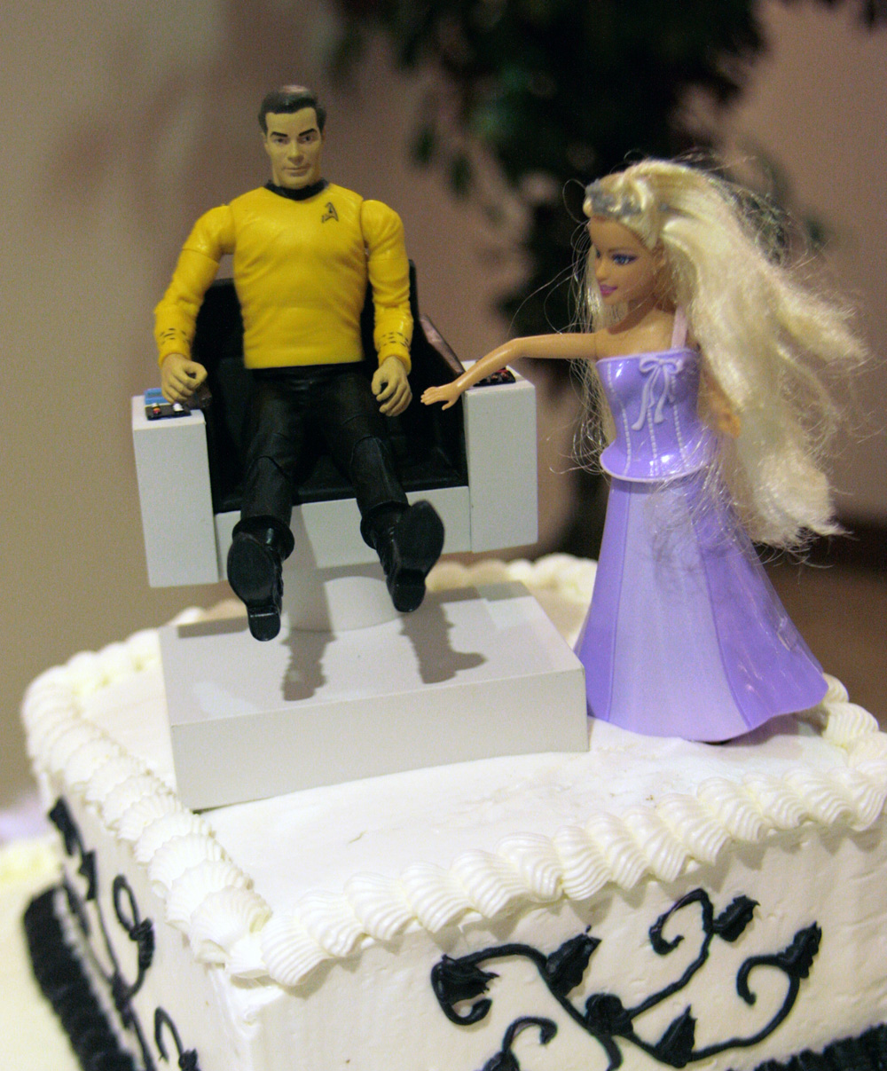 The Earliad My Big Fat Geek Wedding Cake