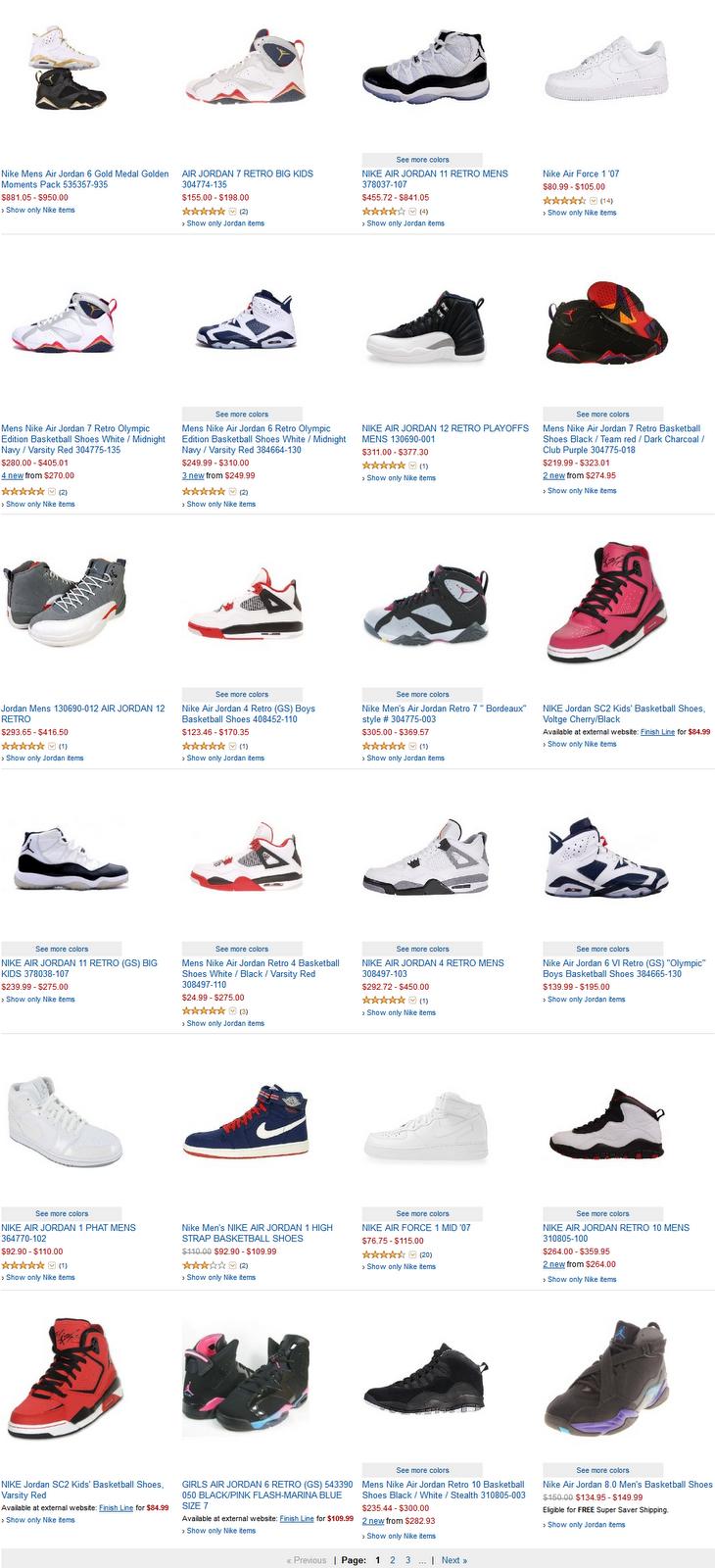 air jordan shoes prices