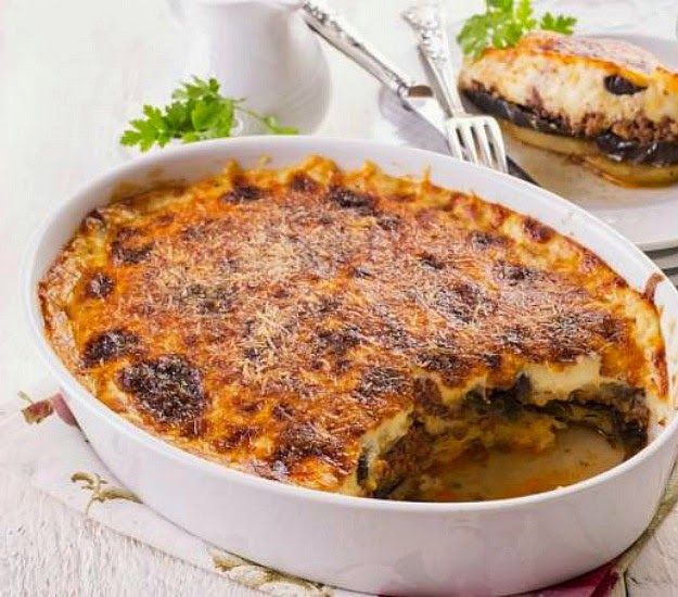 http://theseamanmom.com/potato-and-meat-moussaka/