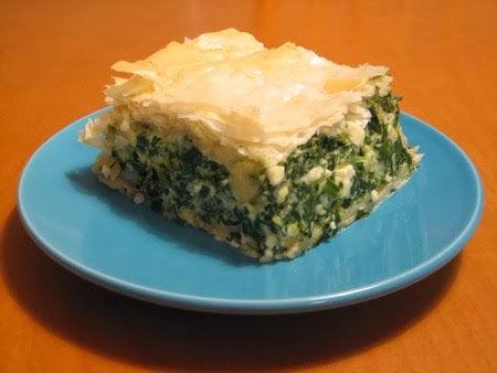 cretan spinach pie