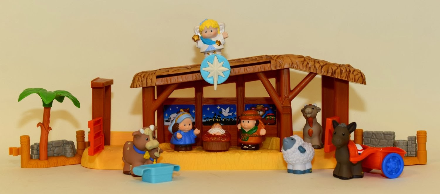 Fisher Price Nativity Set