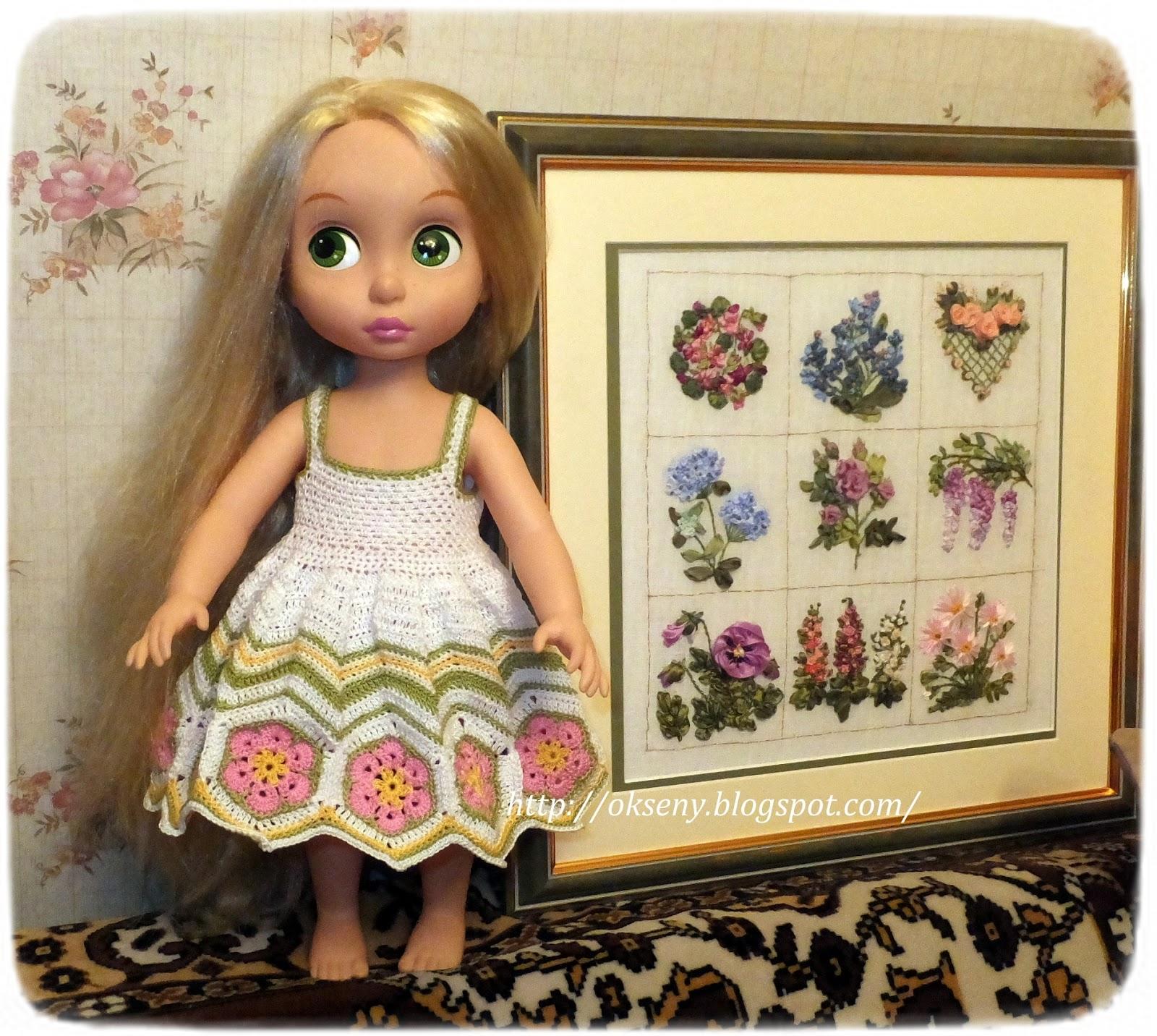 Быстро сшить платье на куклу