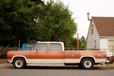 1973 Dodge D200 Crew Cab Pickup Truck.