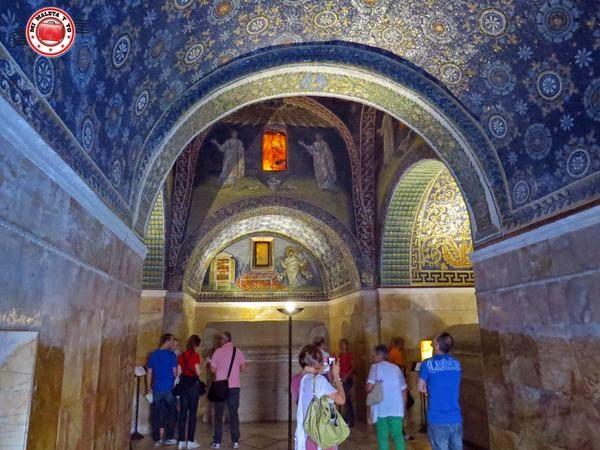 Rávena - Mausoleo de Galla Placidia