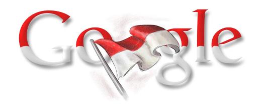 Logo google doodle 17 agustus tahun 2009