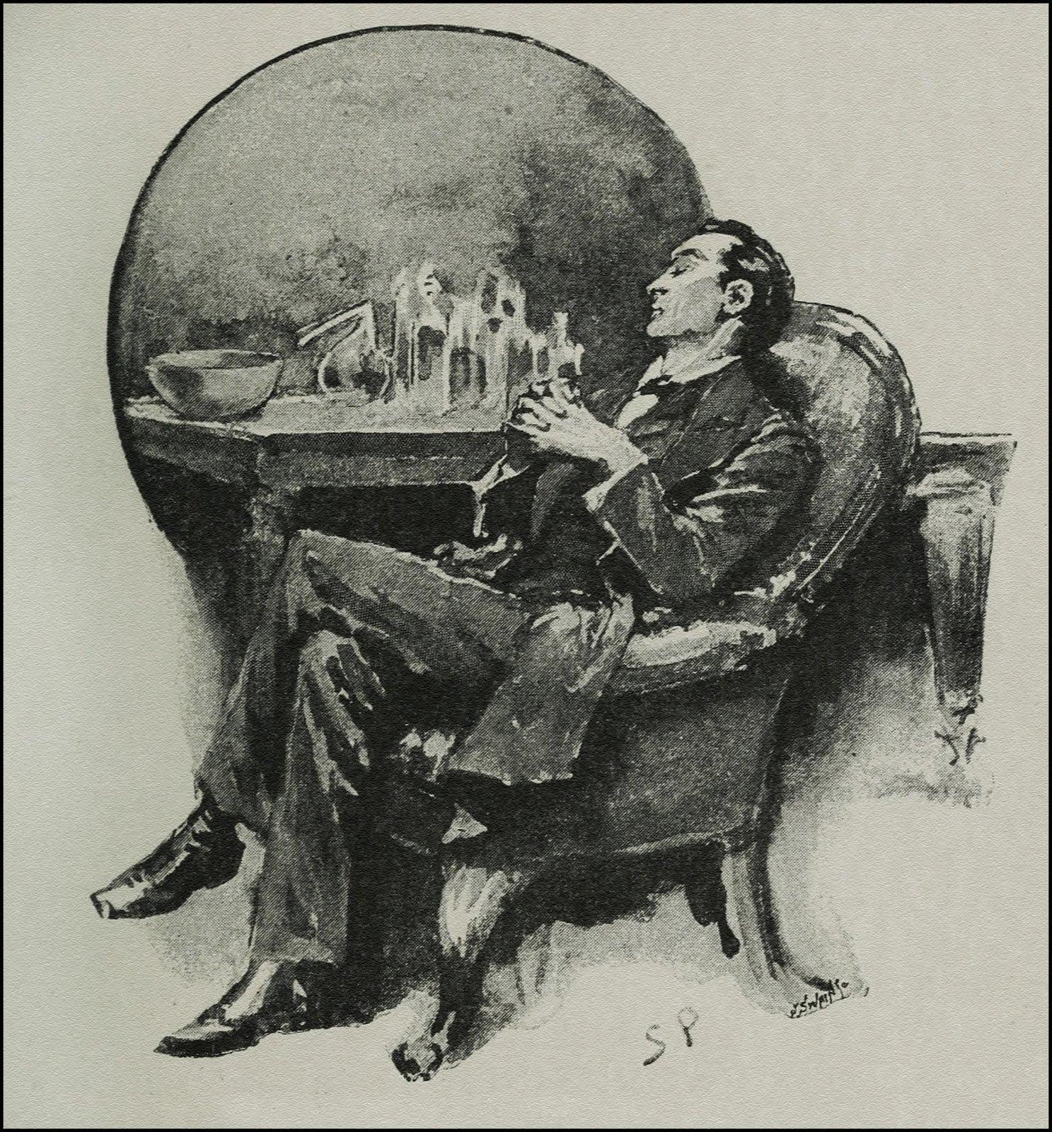 I Found Sherlock Holmes Half Asleep