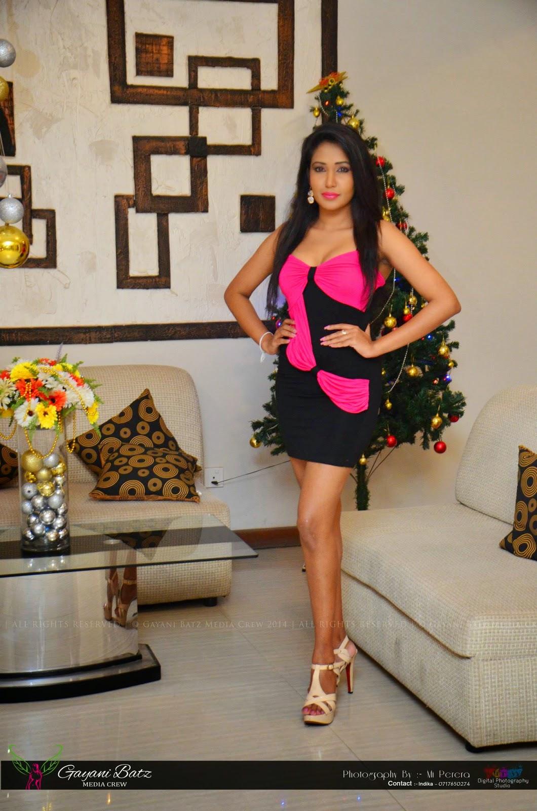 Ashia Dissanayaka short dress
