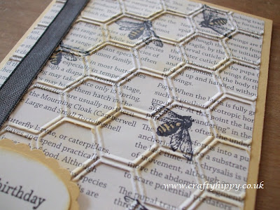 Honeycomb embossing folder, Stampin' Up!