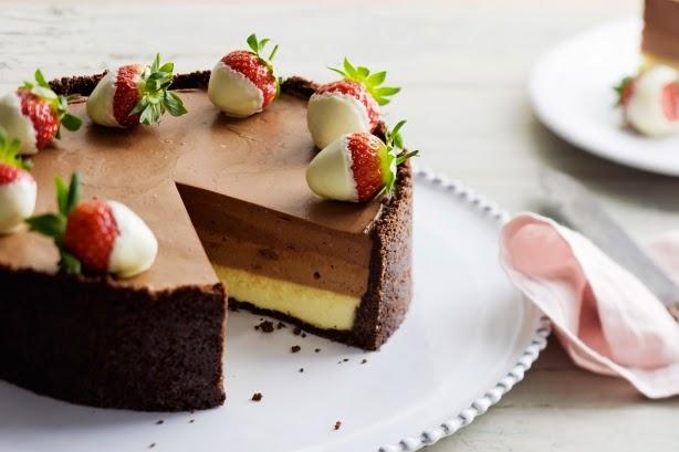 Resep Cake Coklat Keju Kukus Lembut Dan Sederhana | Resep Kue Kering ...