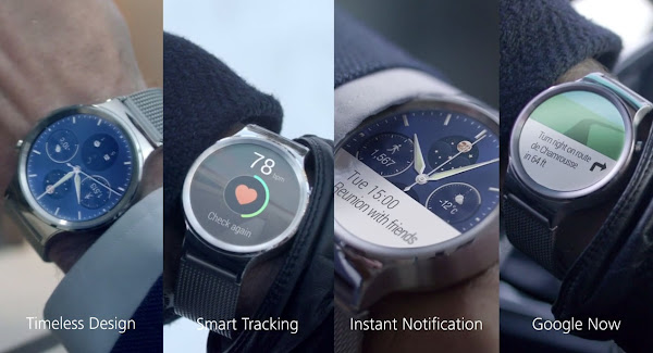 Huawei Watch features