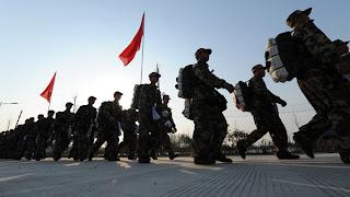 soldati cinesi corea del nord