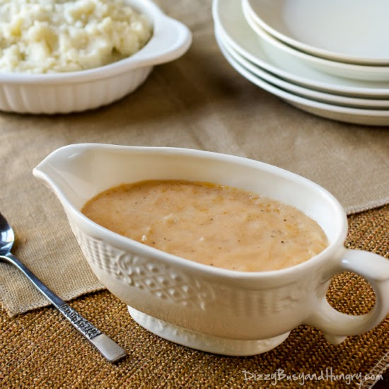 Easy Homemade Gravy | by Dizzy Busy and Hungry