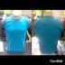 Kaos Lining Oblong Import Blue