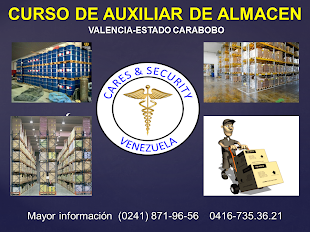 CURSO DE AUXILIAR DE ALMACEN - Valencia,Estado Carabobo