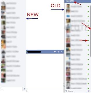cara agar Obrolan Facebook Ke Versi Lama