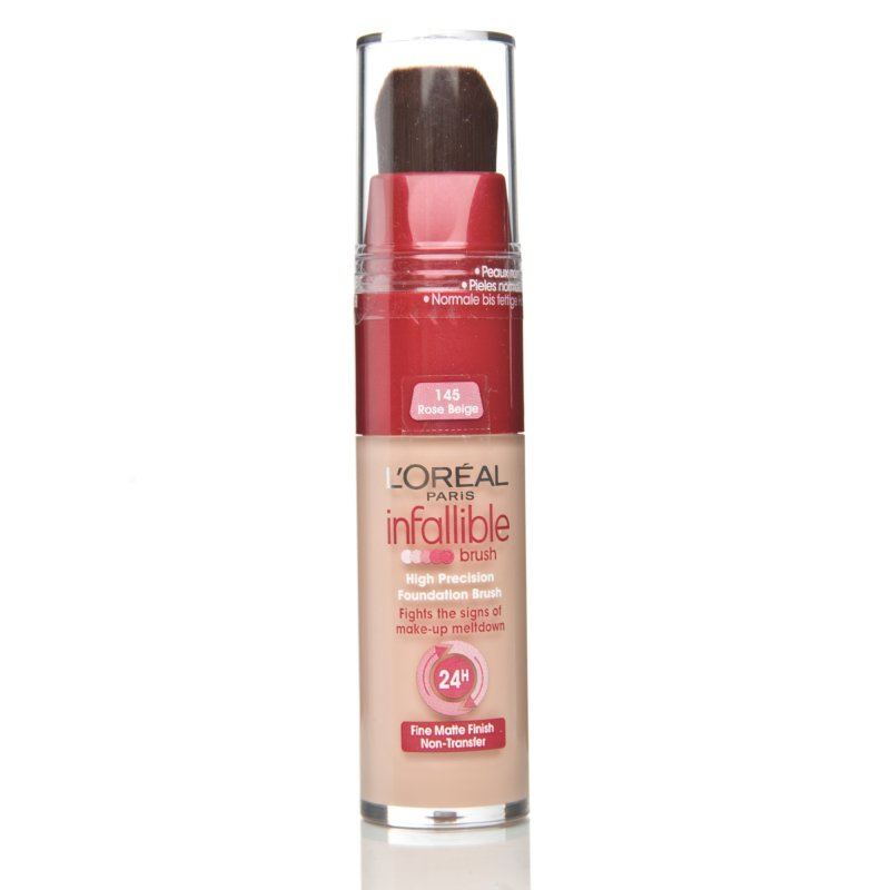 Forget Moi Knots: L'Oréal Paris - Infallible Foundation - Brush ...