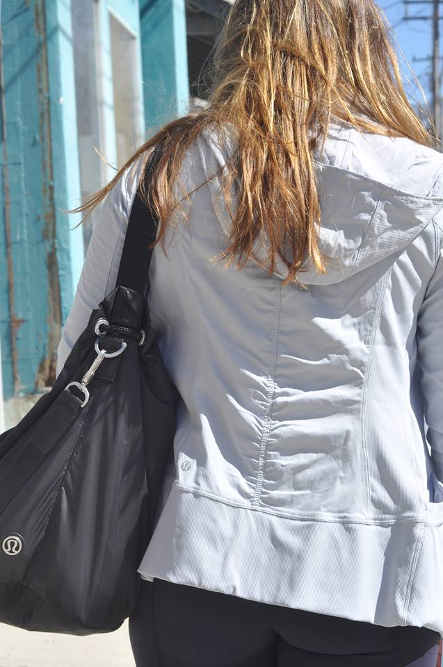 lululemon in flux jacket silver