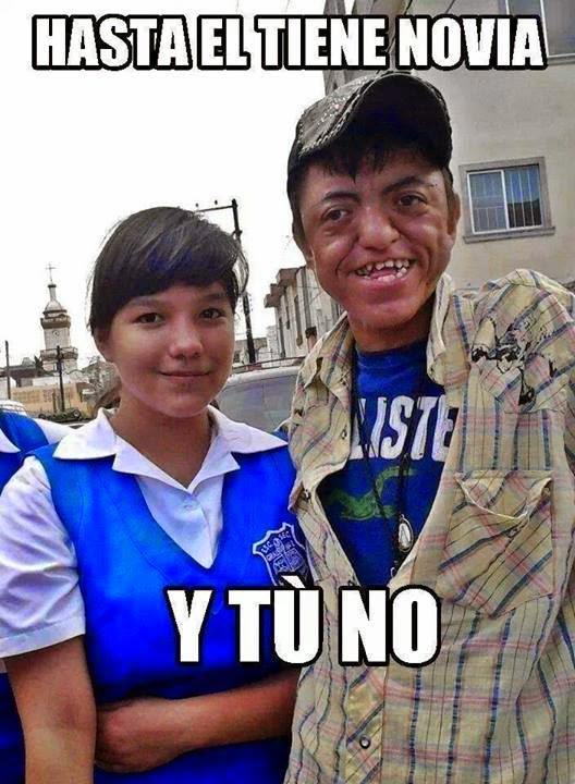 Memes de Internet: hasta el tiene novia y tu no