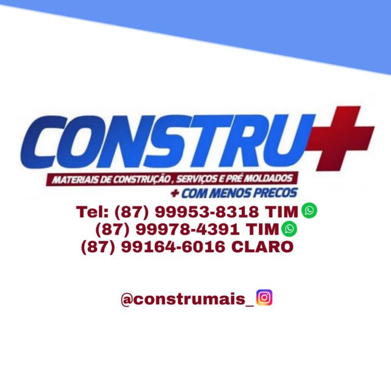 CONSTRU+. EM PETROLÂNDIA-PE