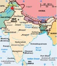 Pembagian Wilayah Negara Benua Asia Asa Generasiku Selatan Gambar Peta