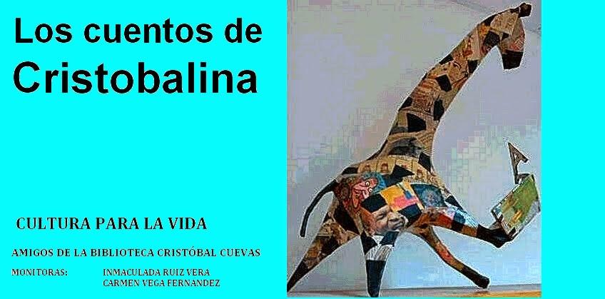 Los cuentos de Cristobalina de la Biblioteca Cristóbal Cuevas