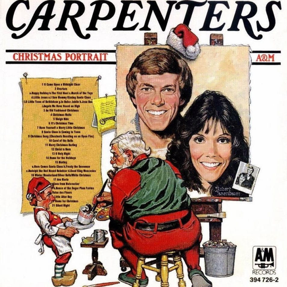 i know i knowmost of you have no idea who the carpenters are but the ones of you that do know that this is the best christmas album ever recorded