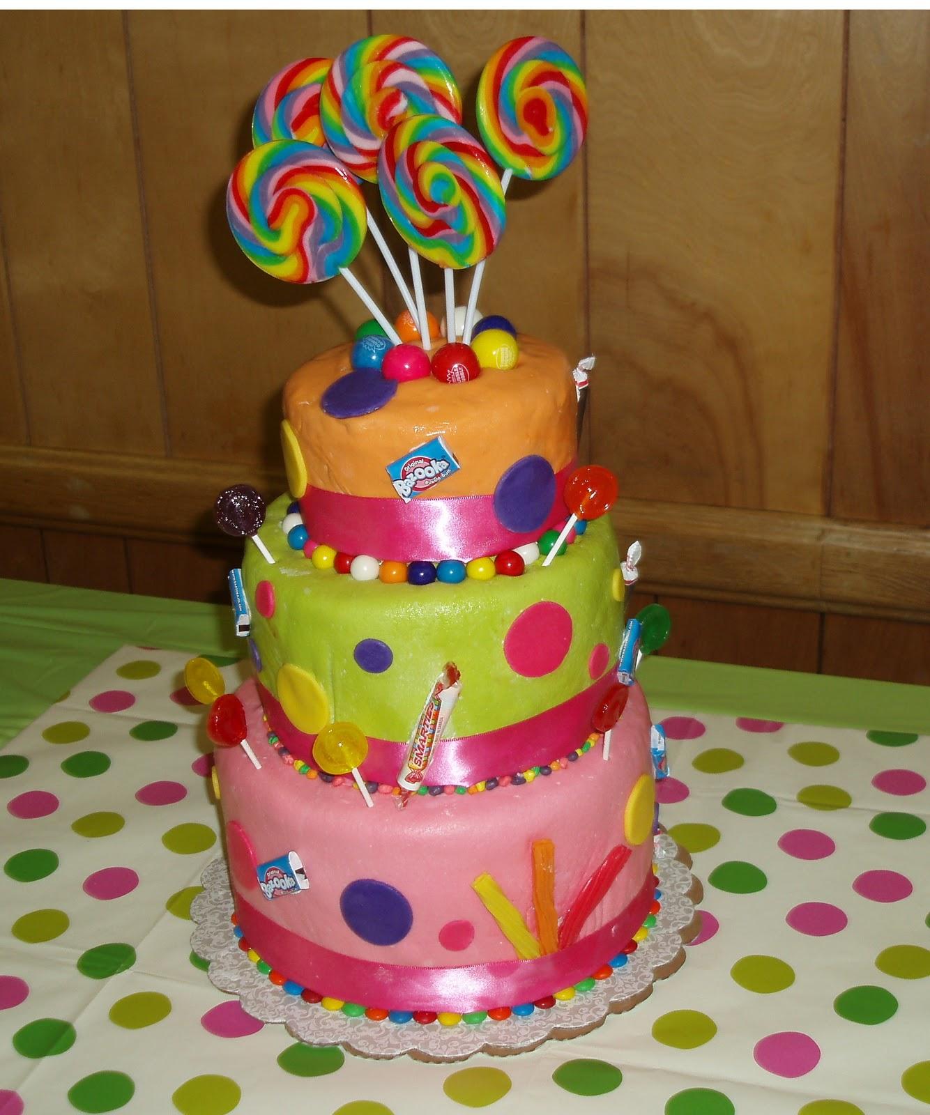 fondant candy cakes