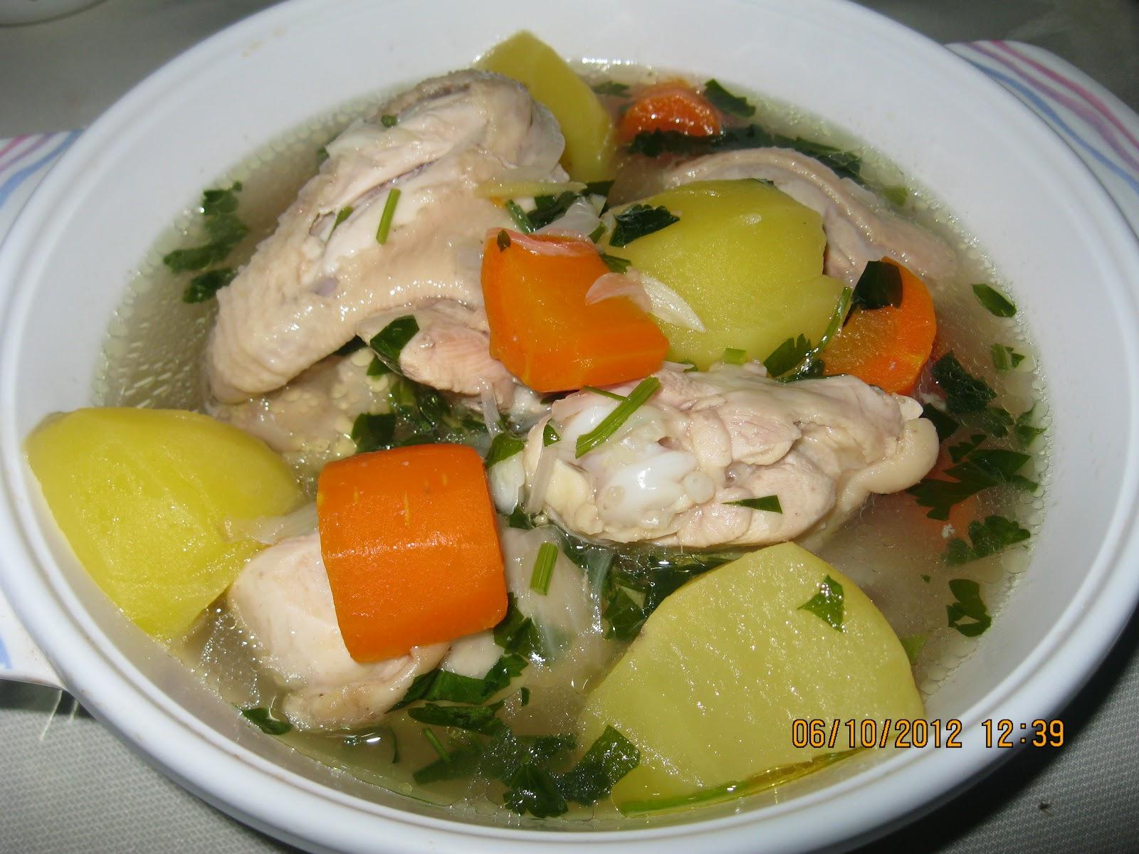 Sup Ayam Mudah Resepi Terbaik
