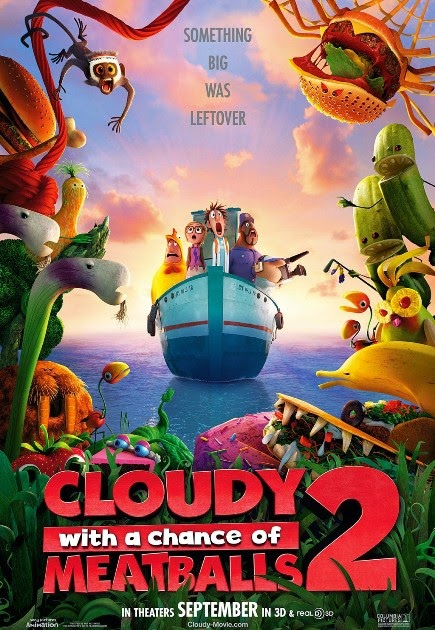 """""""Cloudy with a Chance of Meatball 2 (2014)"""" movie review by Kinudang Bagaskoro"""