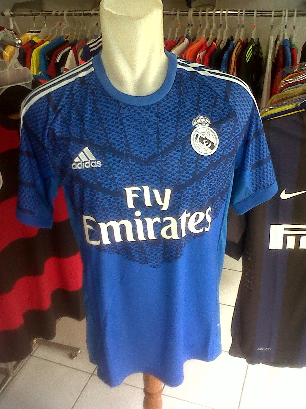 Jersey Kiper Real Madrid Home 2014/2015
