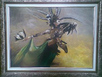 Dayak's dancer