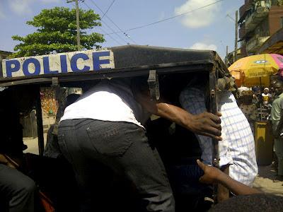 nigerian police arrest rapist in lagos