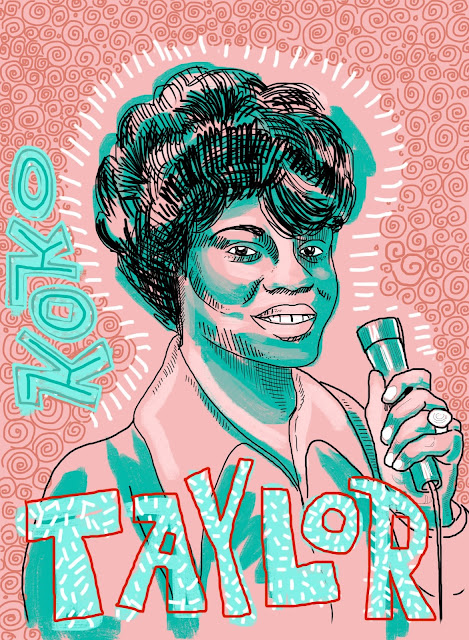Blues, music, Chicago Blues, Koko Taylor, Queen of the Blues, vocalist, vocals, singer, wang dang doodle, 29 ways,