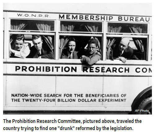 The U.S. Department of the Treasury poisoned alcohol during Prohibition — and people died.