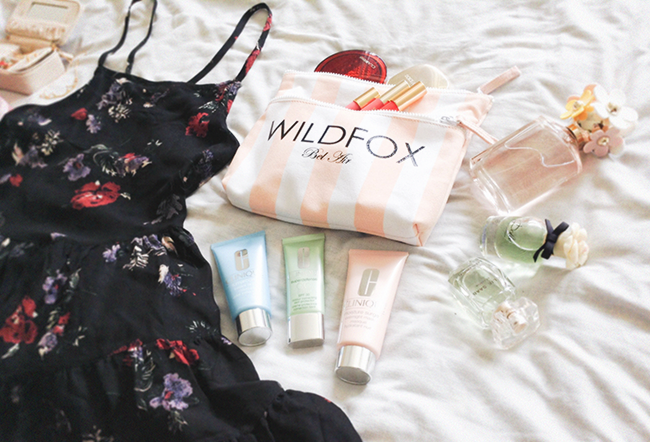 Wildfox Bel Air Canvas Bikini Bag fashion style blog