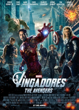 Download cartaz nacional do filme os vingadores inspirado nos quadrinhos da marvel 1330538841434 300x420 Os Vingadores DVDRip RMVB Legendado Baixar Grtis