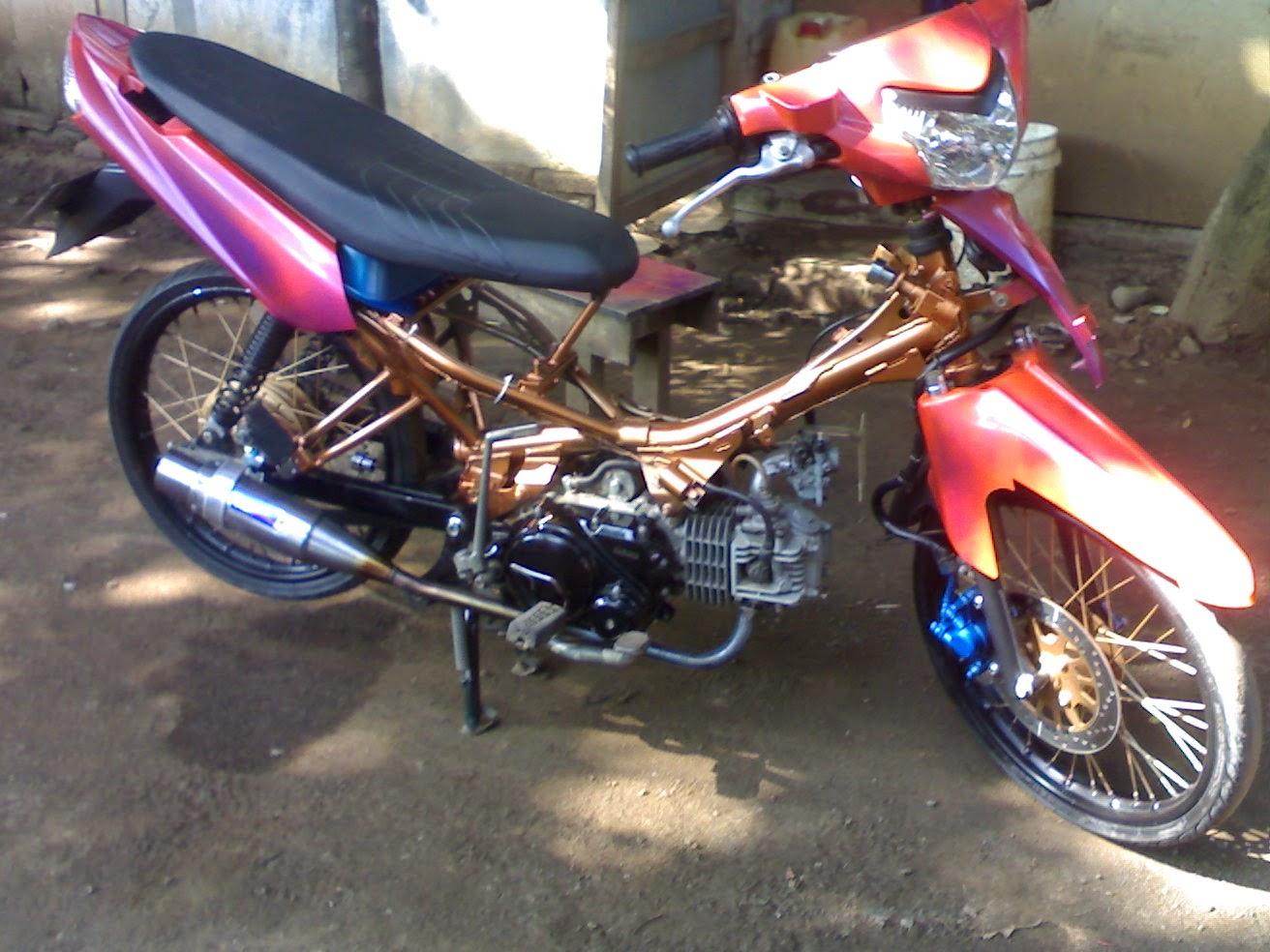 85 Modifikasi Motor Vega Zr Airbrush Terunik Kuroko Motor