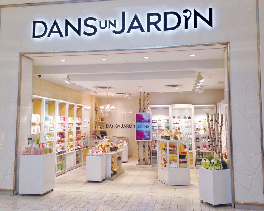 Un renouveau pour les boutiques Dans un Jardin Galeries d'Anjou
