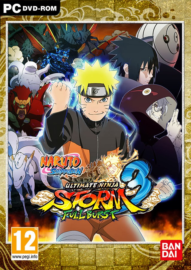 Naruto Shippuden Ultimate Ninja Storm 3 Full Burst Game Download