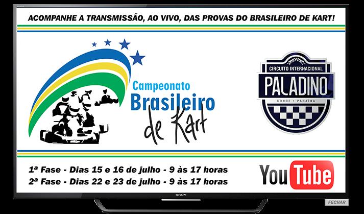 CAMPEONATO BRASILEIRO DE KART