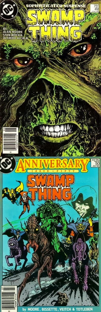 Swamp Thing # 49 50 - Moore, Bissette, Totleben Woch