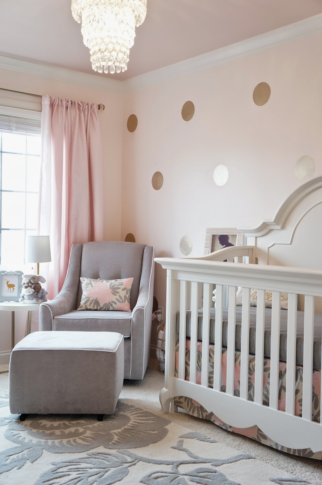 It 39 s a pretty prins life nursery reveal for Cadre pour decoration maison
