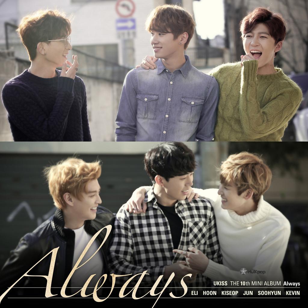 U-KISS – Always – Single