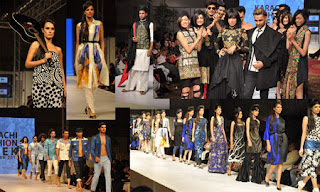 Karachi Fashion Week 2011 Models